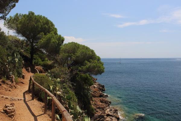 Cesta k pevnosti Forte di Longone