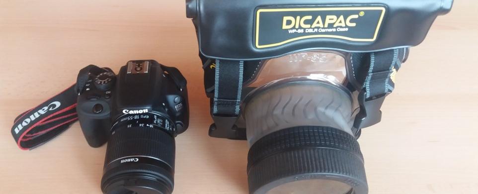 Vodotěsné pouzdro na zrcadlovku DiCAPac WP-S5