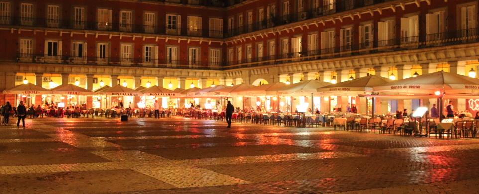 Večer v Madridu