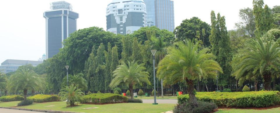 Jeden den v Jakartě