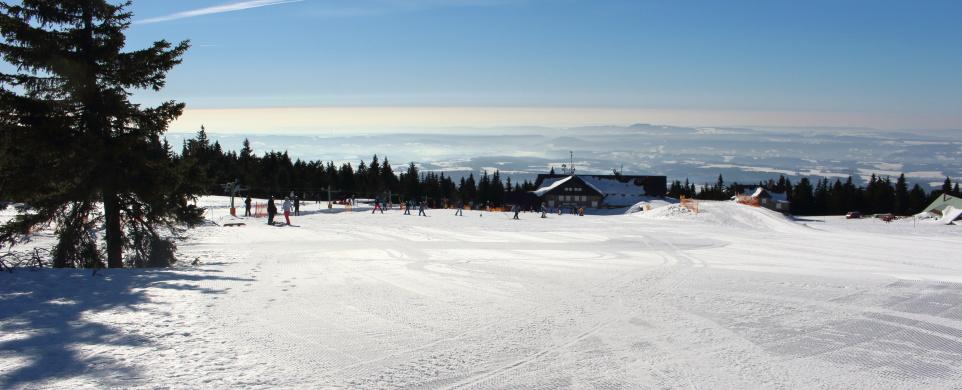 Sáňkařská cesta na Černé hoře