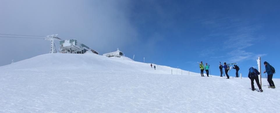 Zimní výstup na Sněžku